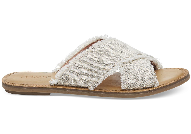 Viv Metallic Slide Sandals f0SNYu9