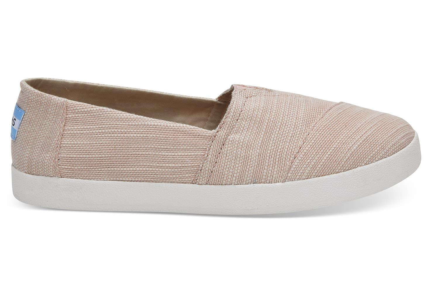 TOMS Women's Avalon Slubby Cotton Flats qFByp6rT