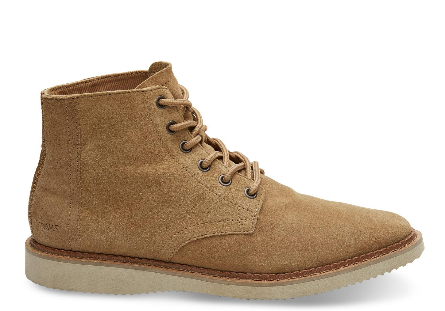 623a64650a7 Lyst - TOMS Toffee Suede Porter in Brown for Men