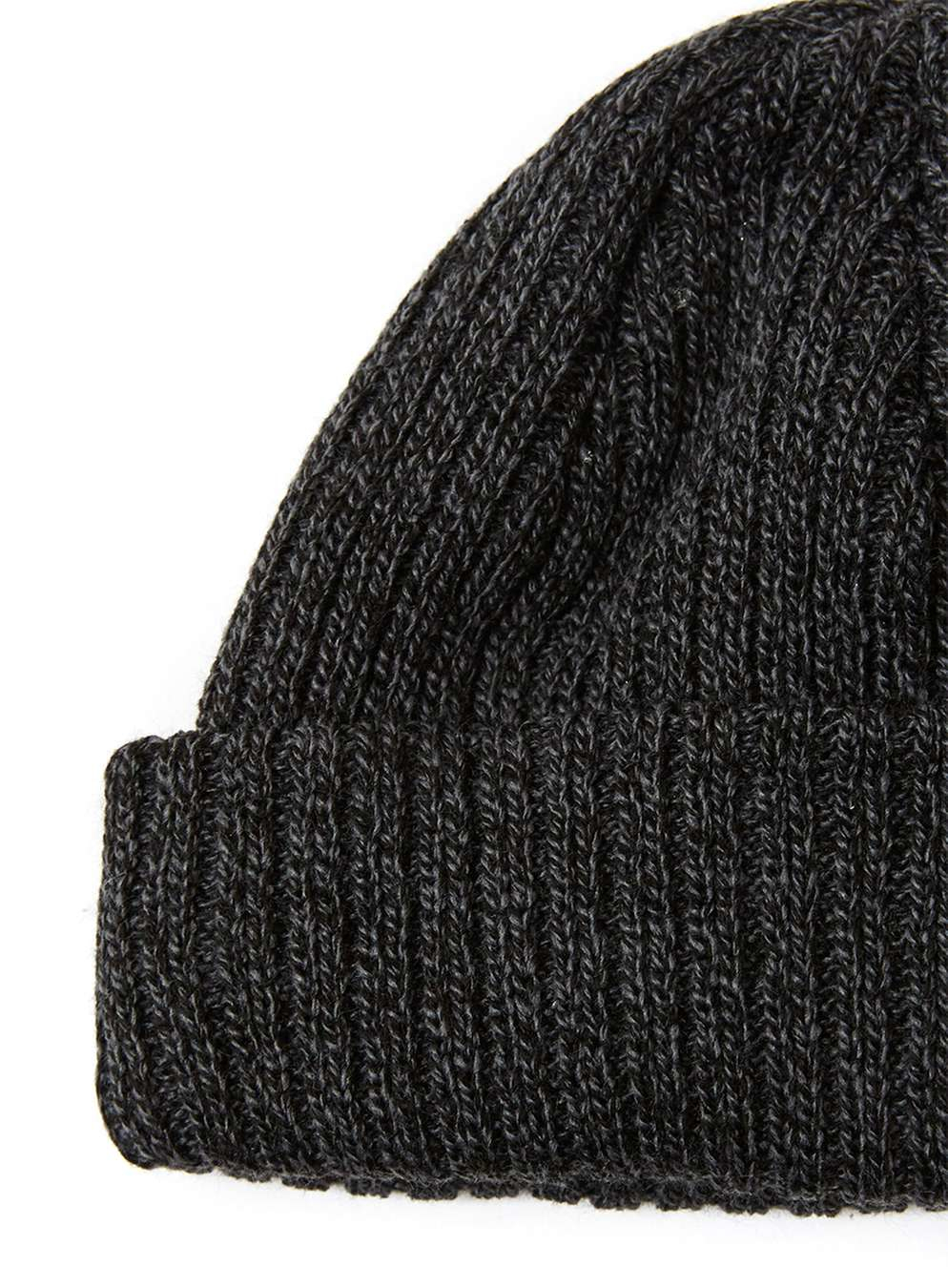a88d5c59e44 Lyst - Topman Blue And Black Twist Mini Fit Beanie Hat in Black for Men