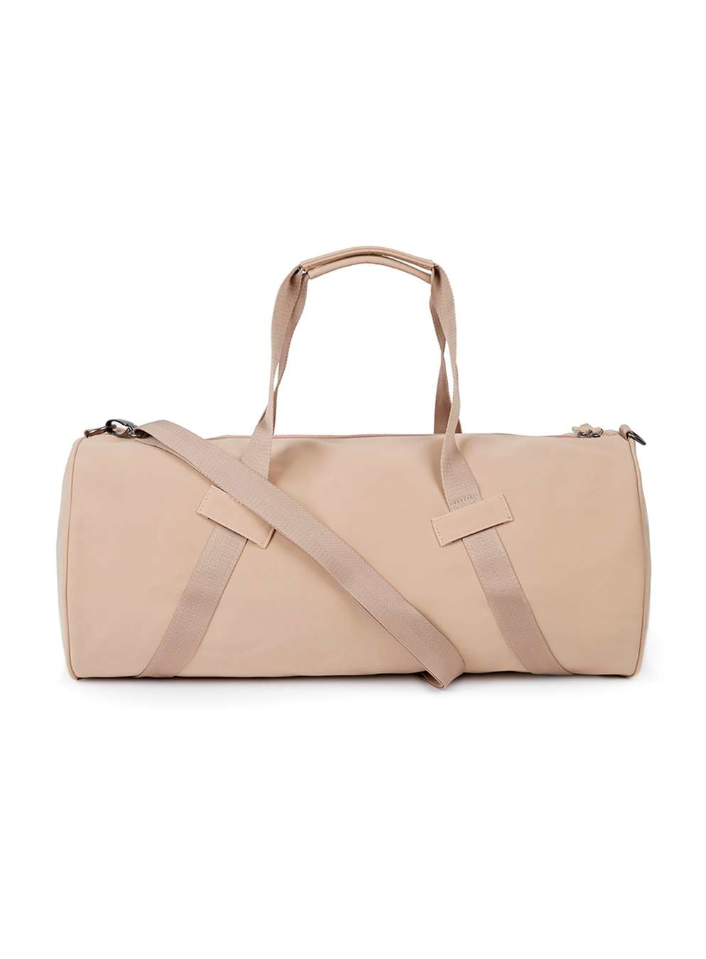 e27607b66dc8 Lyst - Topman Nude Rubber Barrel Bag in Natural for Men