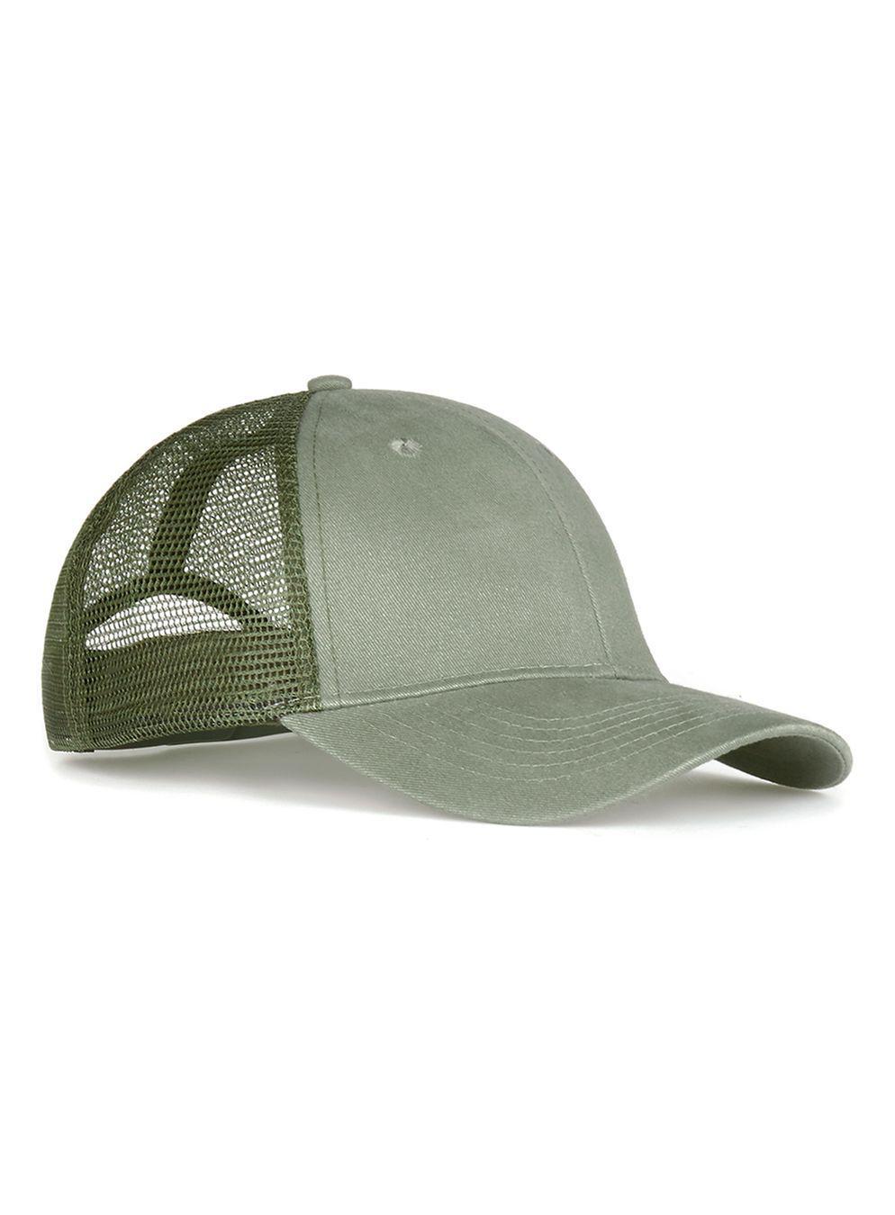 0df3a4b730e Lyst - TOPMAN Olive Mesh Trucker Cap in Green for Men
