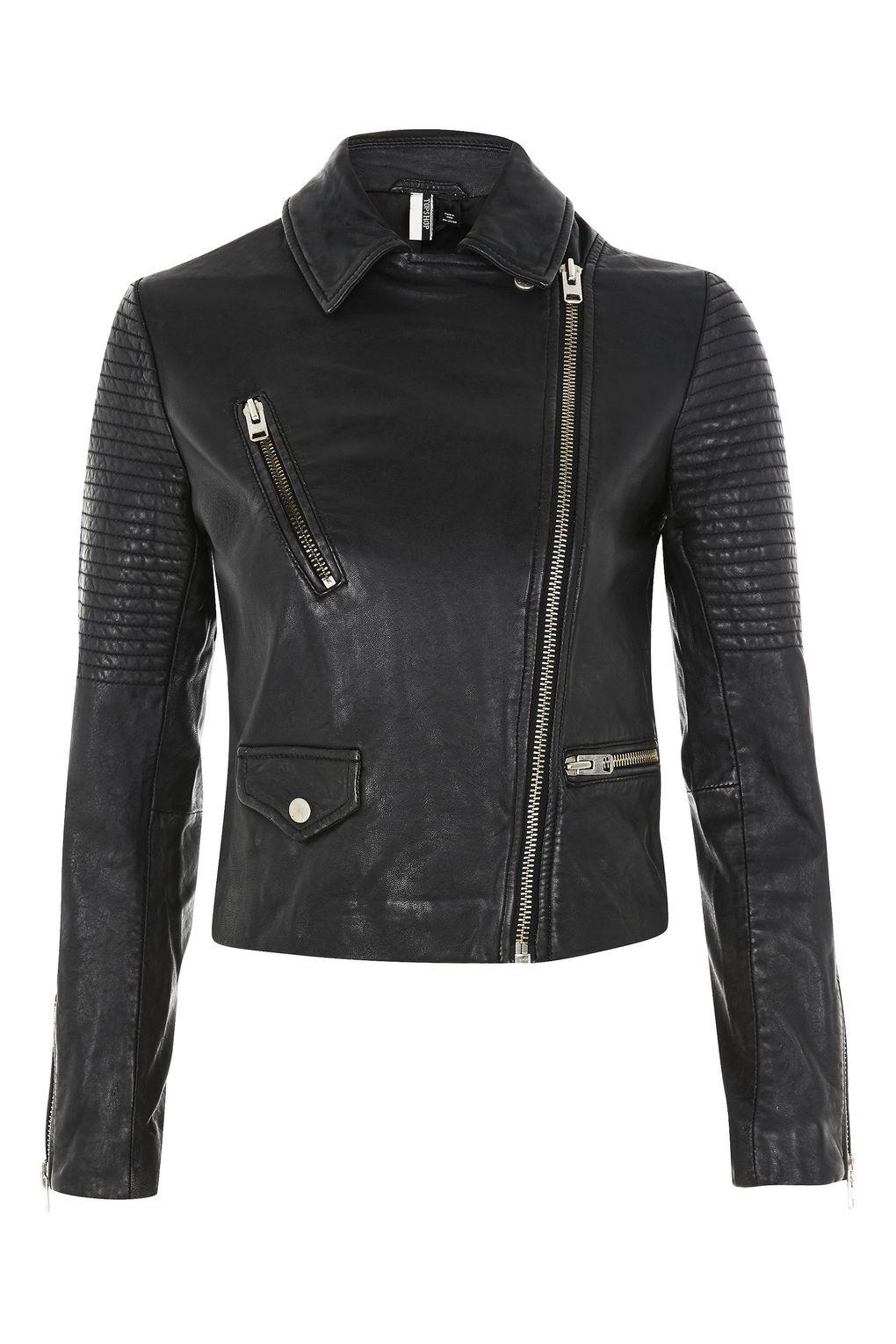 Womens leather jackets topshop