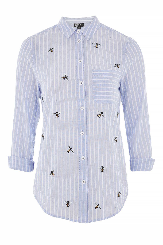 Blue Denim Shirt Womens