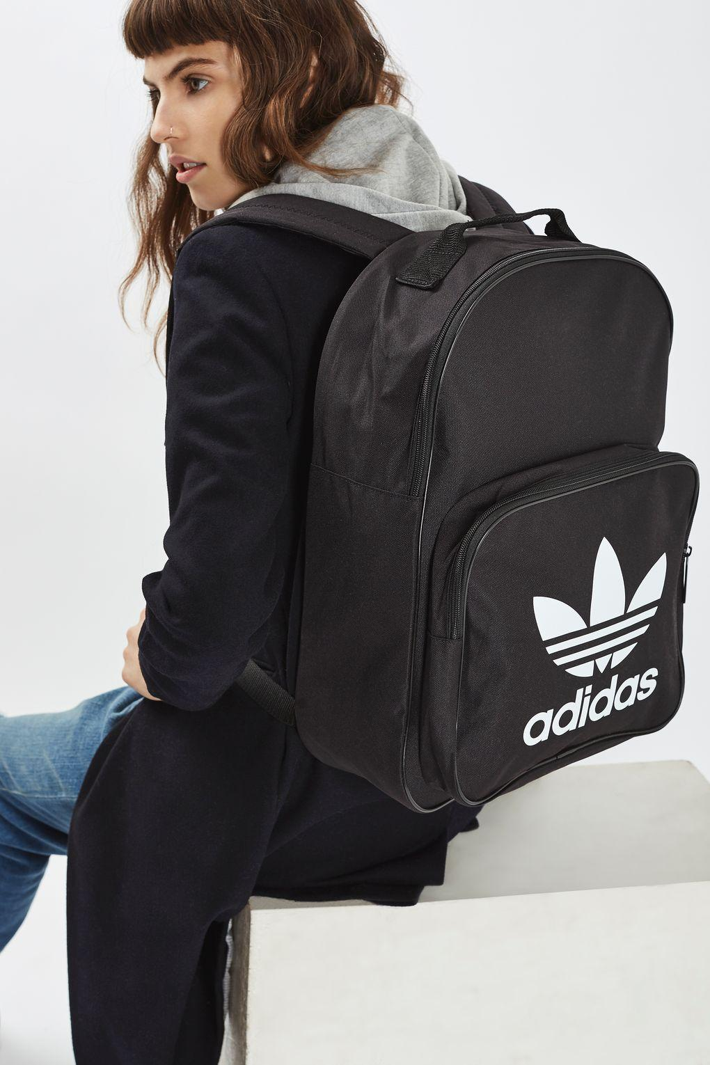 6766affc379d Lyst - adidas Trefoil Backpack By Adidas Originals in Black