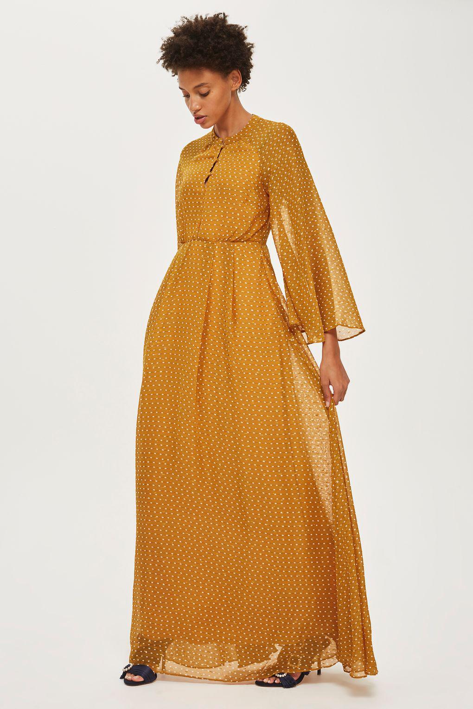 af9ffadd25 Lyst - Y.A.S Long Sleeve Maxi Dress By Yas