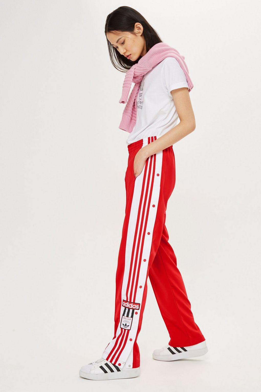 huge discount 267b2 3732f Lyst - TOPSHOP Adibreak Trackpants By Adidas Originals in Re