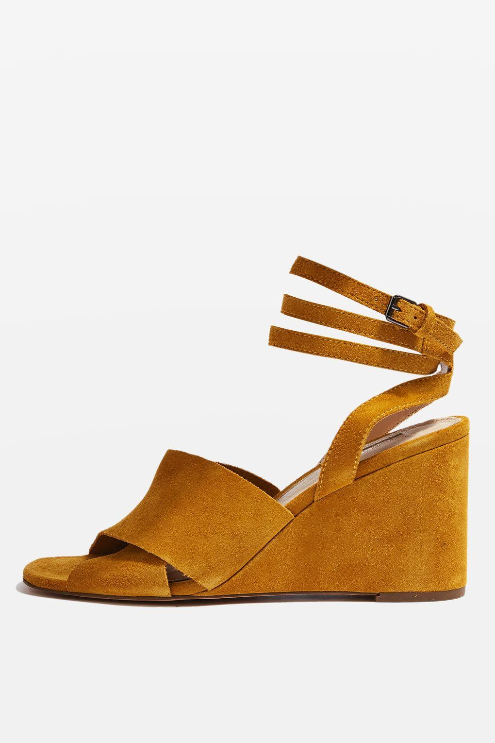 Special Sale WHIRL Crossover Wedges Women Yellow