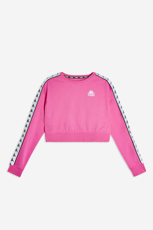 1ea1ecd83c Lyst - Kappa Banda Tape Long Sleeve T-shirt By in Pink