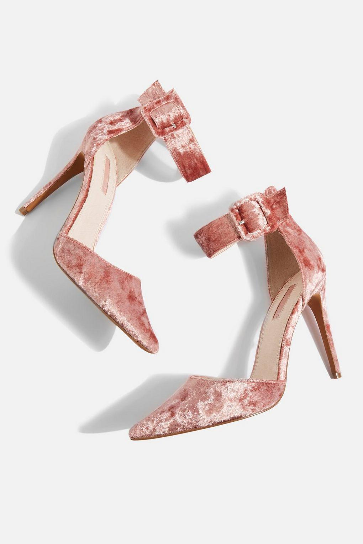 a8132a7cda11 Topshop Grace Ankle Strap Shoes - Lyst