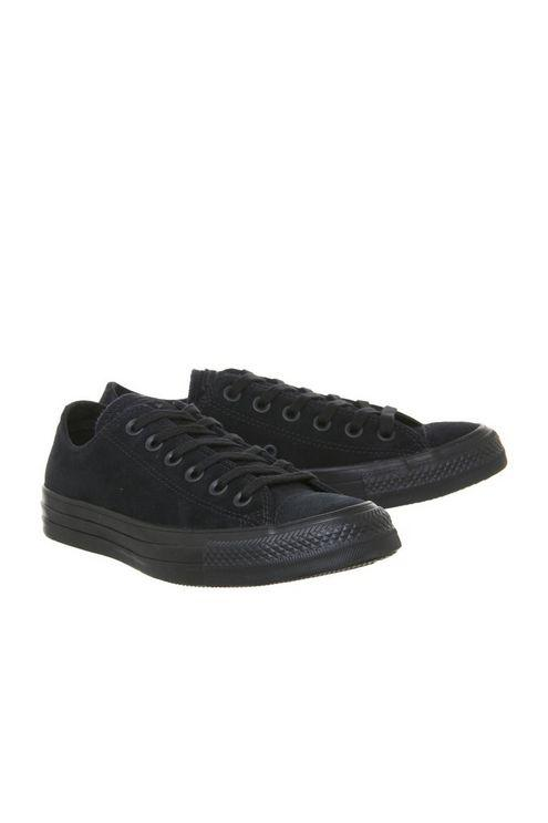 79d21e46bfae Converse All Star Low Trainers By Office in Black - Lyst