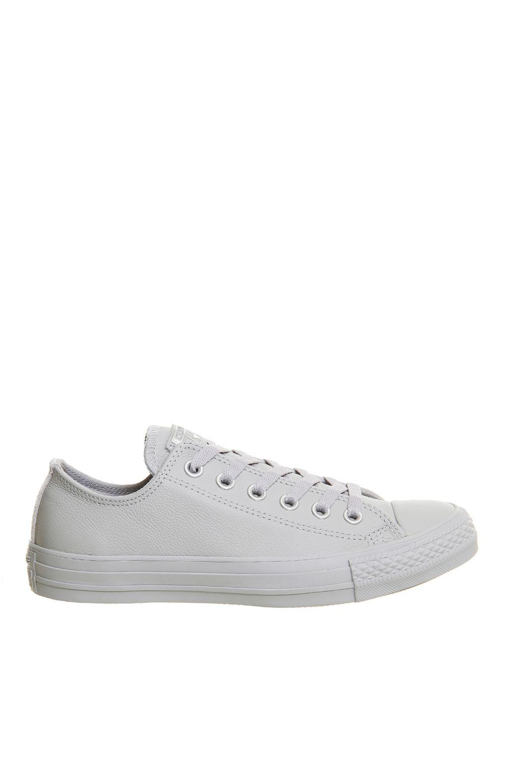 dc6b18b7472cce Converse All Star Low Top Trainers By Converse in Gray - Lyst