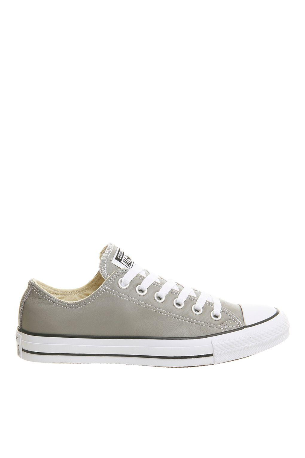 Lyst - Converse All Star Low Top Trainers By Converse in Gray b4758f90e