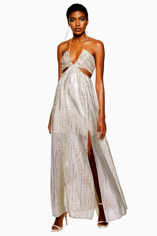 069168bd Topshop Crinkle Floral Maxi Dress - raveitsafe