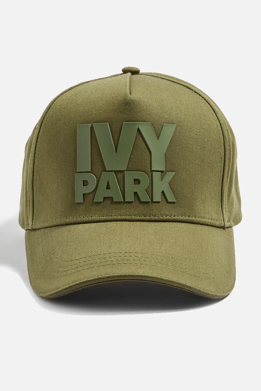 012b20b8dd079 Ivy Park Silicon Logo Cap By in Green - Lyst