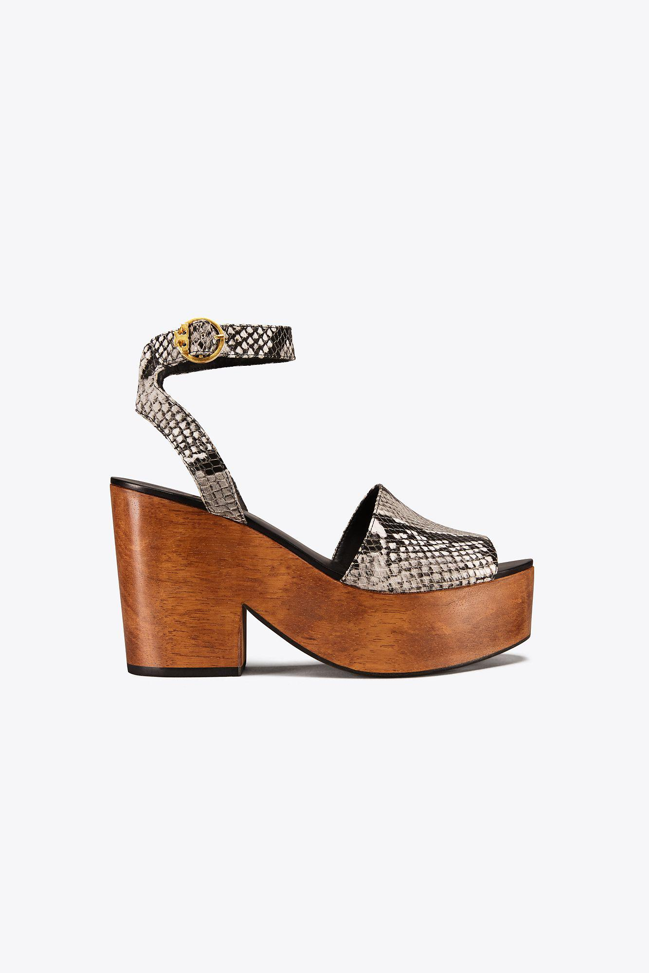 discount 2015 new cheap discount authentic Tory Burch Embossed Slingback Sandals clearance authentic 2015 sale online discount eastbay olQnF