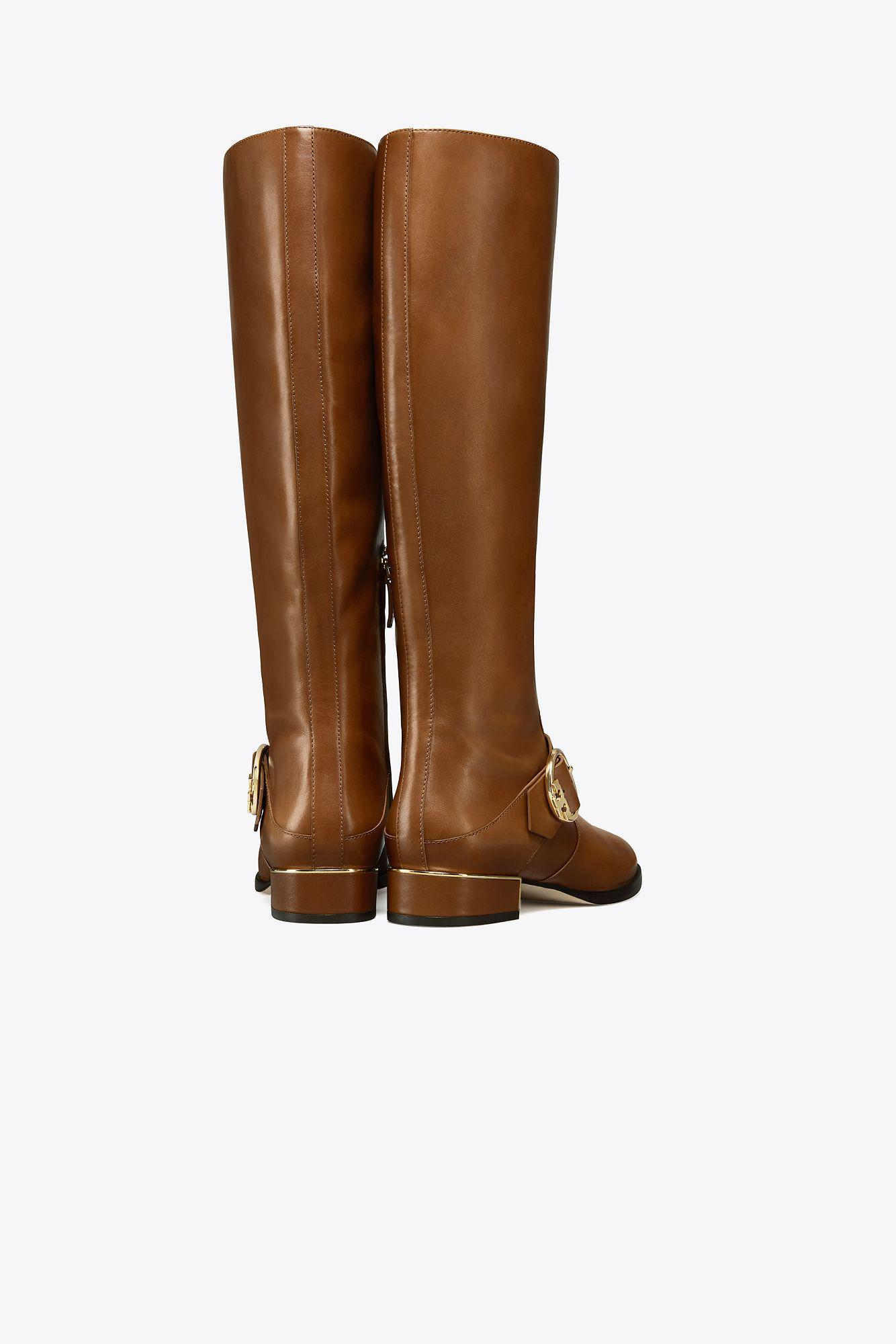 ffa463343fb Tory Burch - Brown Sofia Riding Boot