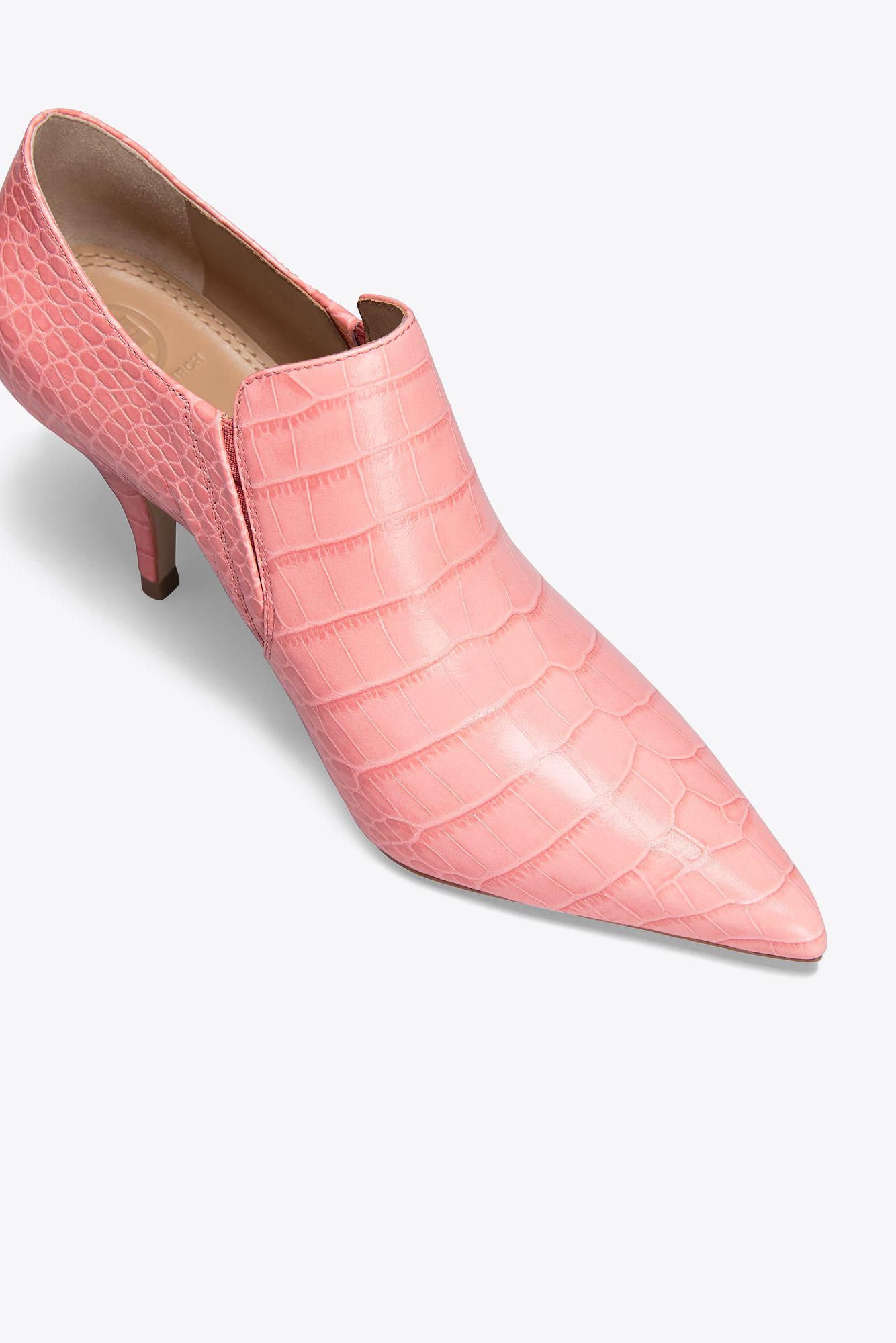 f91f1a951b9d View fullscreen thoughts on 5cd10  Tory Burch - Pink Georgina Embossed Ankle  Bootie - Lyst. View fullscreen best online 35be5 ...