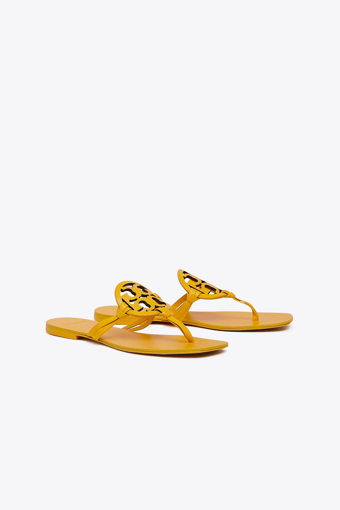 7a29ae363ab7b ... Flat Sandals - Lyst. View fullscreen