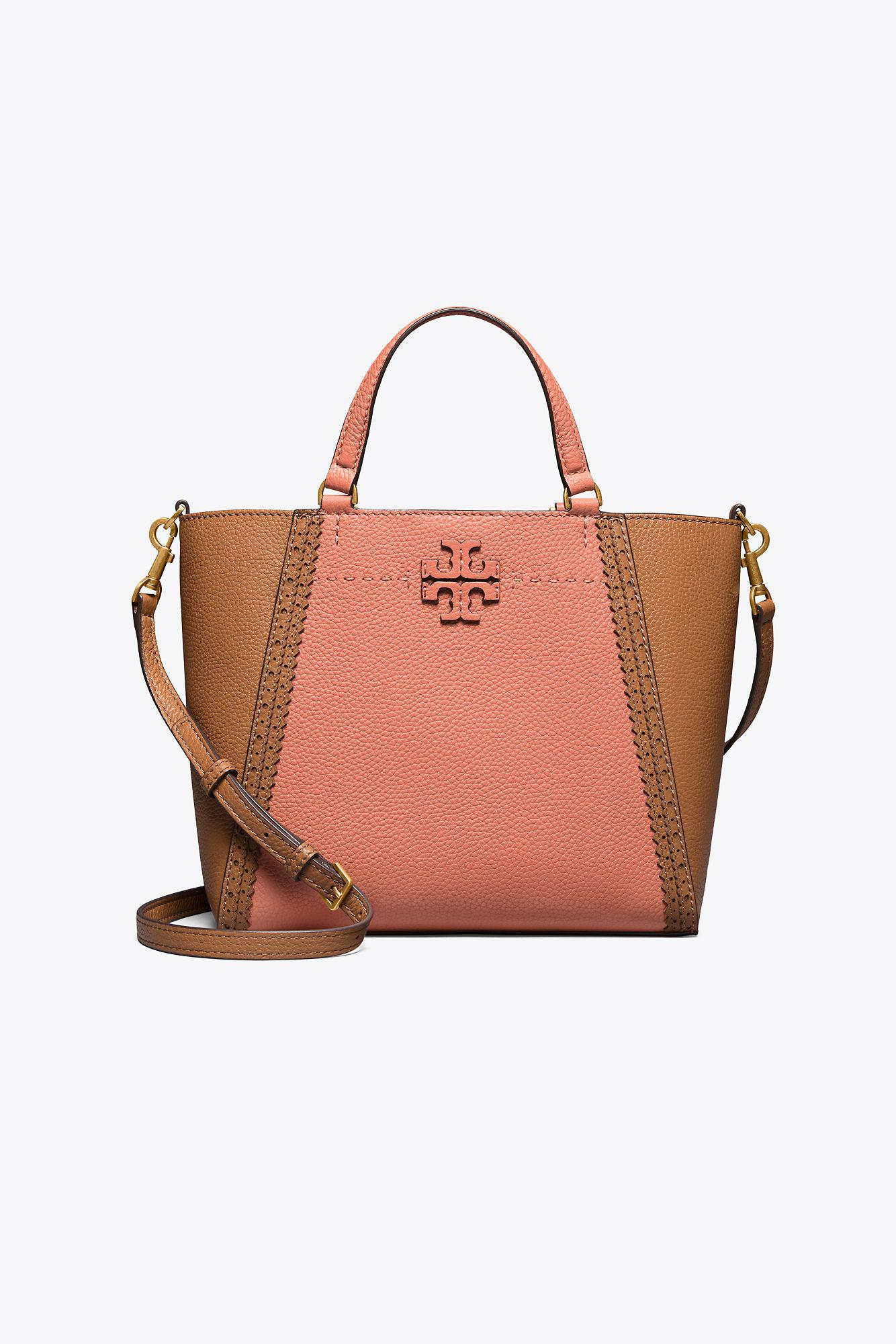 59ccb2166b2a Tory Burch - Multicolor Mcgraw Brogue Small Carryall - Lyst. View fullscreen