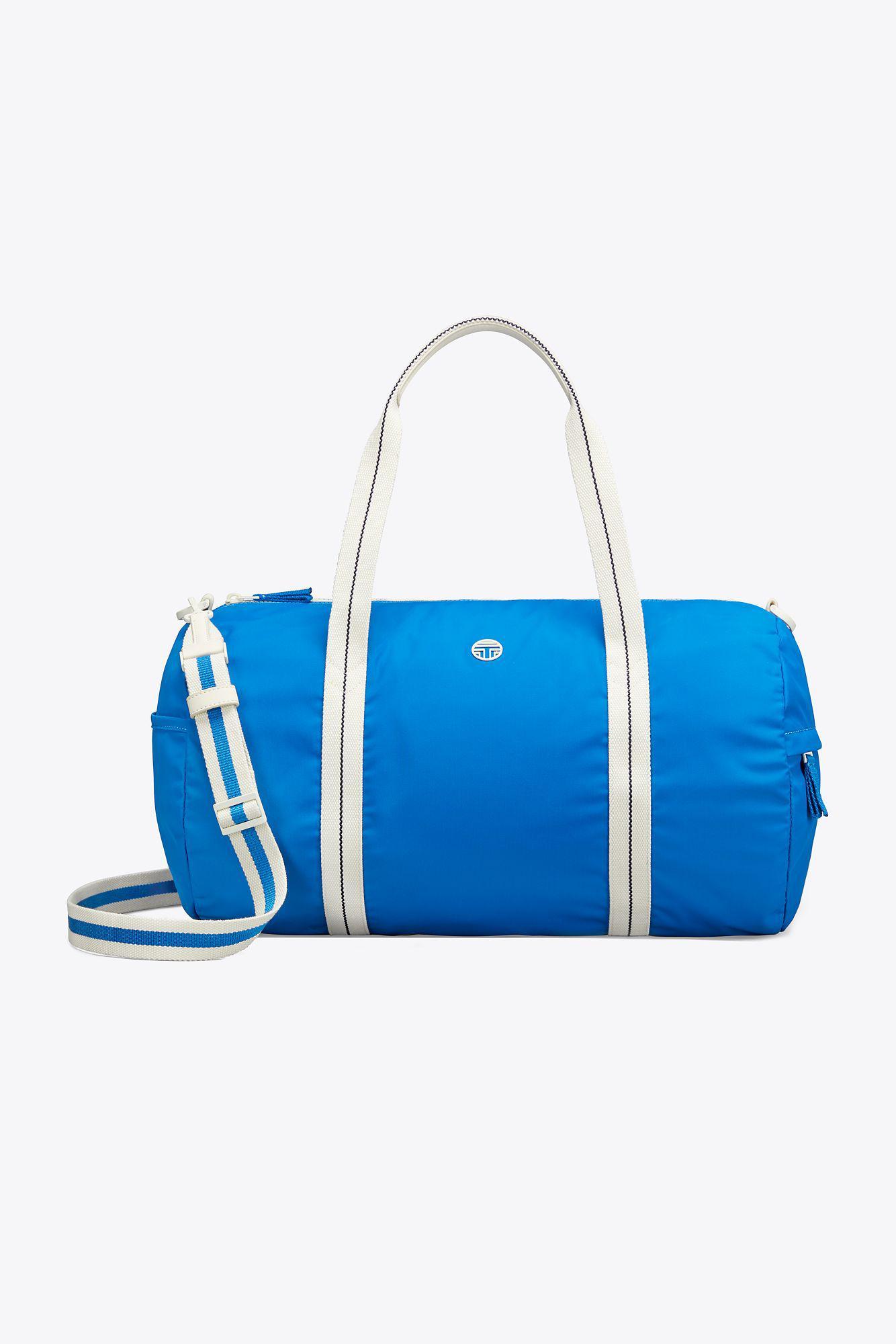 Tory Burch Women S Blue Duffle Bag