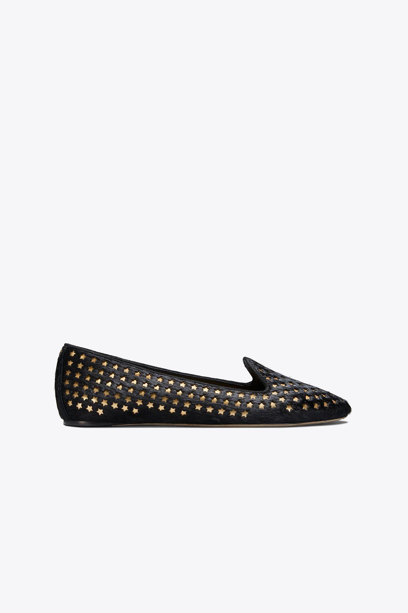 26b2082cecb9 Lyst - Tory Burch Olympia Stud Loafers in Black - Save 31%