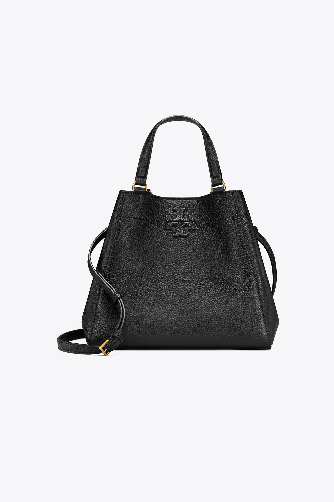 bac2d1306f44 Lyst - Tory Burch Mcgraw Small Carryall in Black