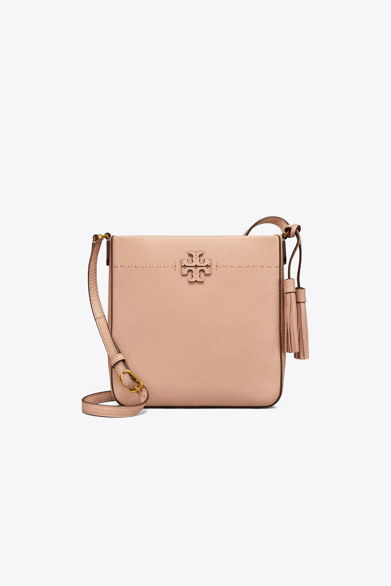 05dcb128b Tory Burch Mcgraw Swingpack in Natural - Lyst