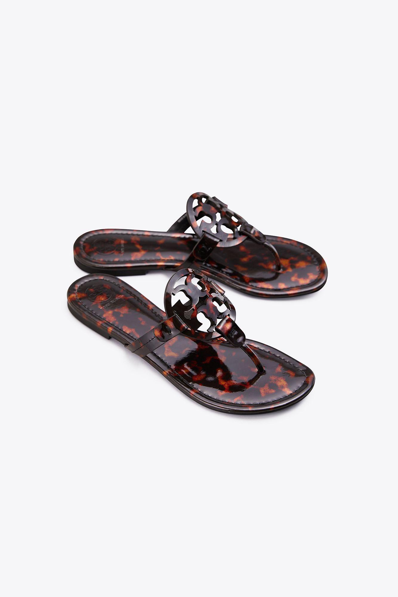 772e094d61e Lyst - Tory Burch Miller Sandals