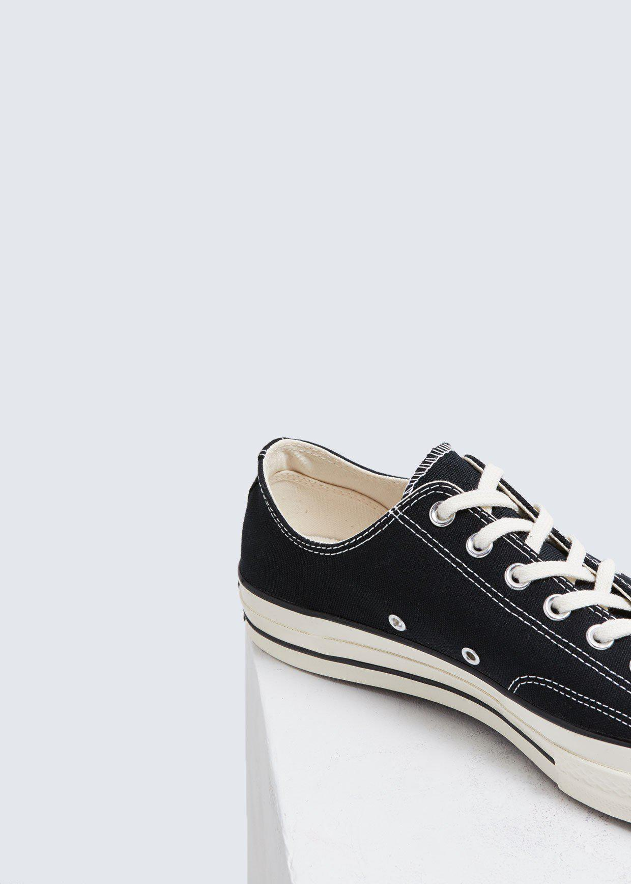 Converse - Black Chuck Taylor 70 Ox Low for Men - Lyst. View fullscreen 39edc76b6