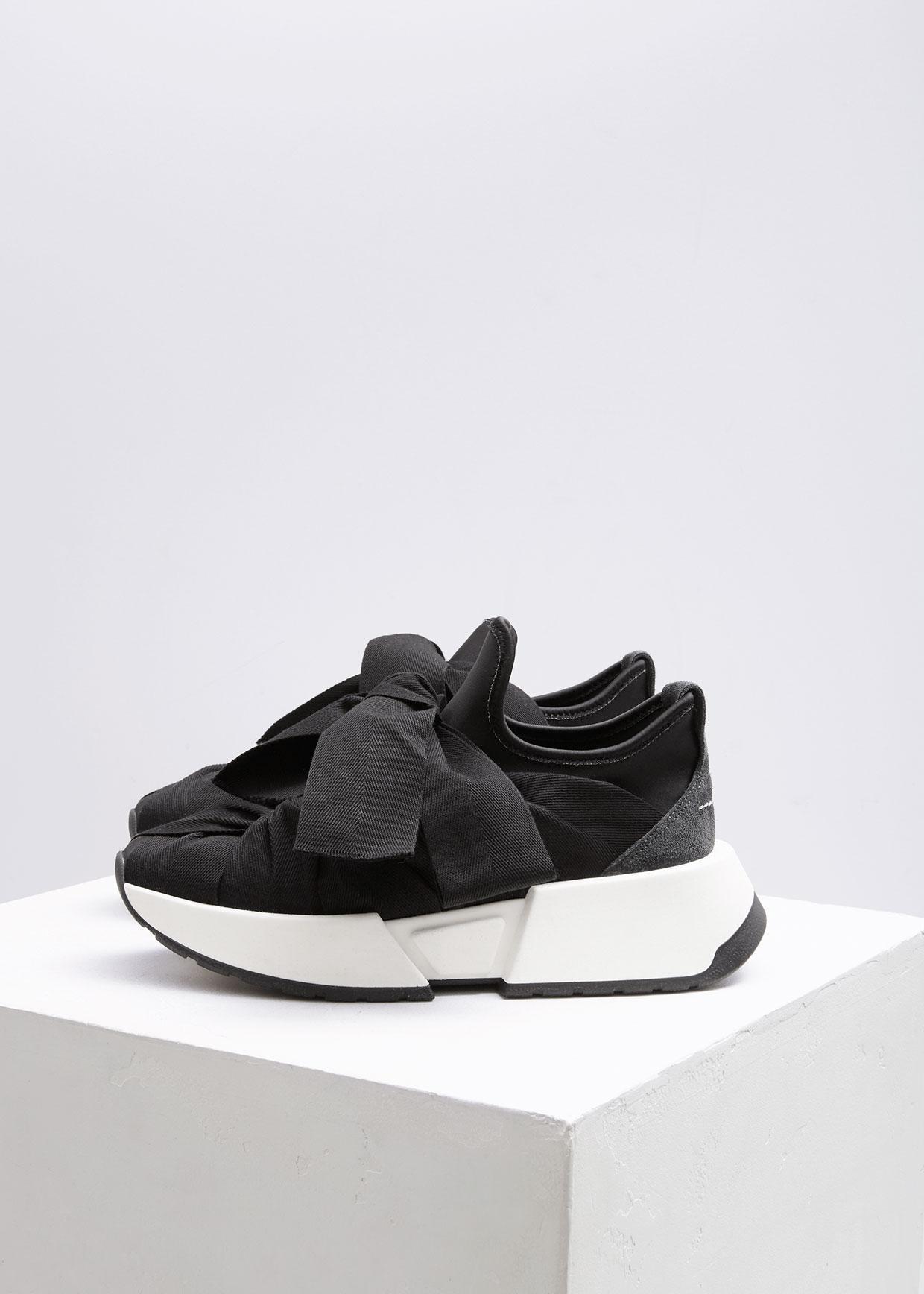 lace up sneakers - Black Maison Martin Margiela Q0L9ED