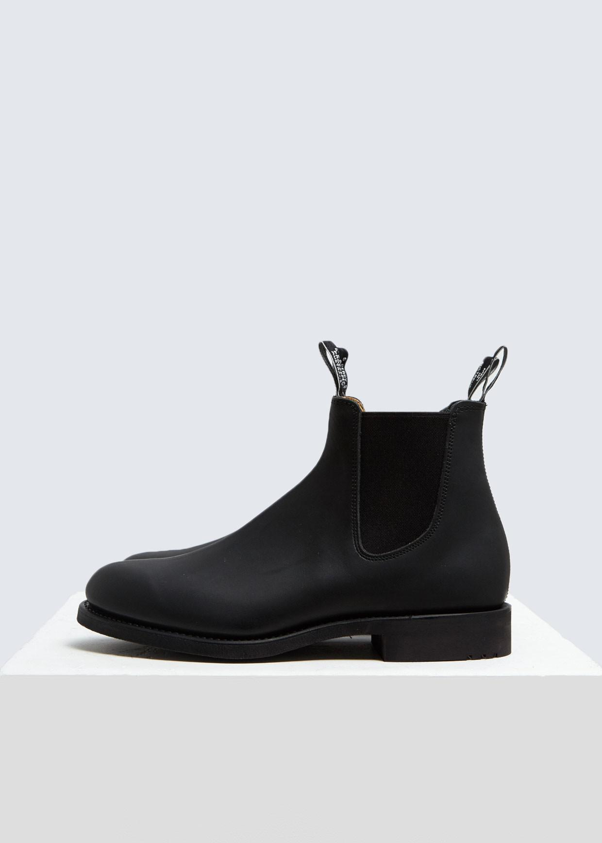 0898e2af0f5 R.M. Williams Gardener Greasy Kip Leather Boot in Black for Men - Lyst