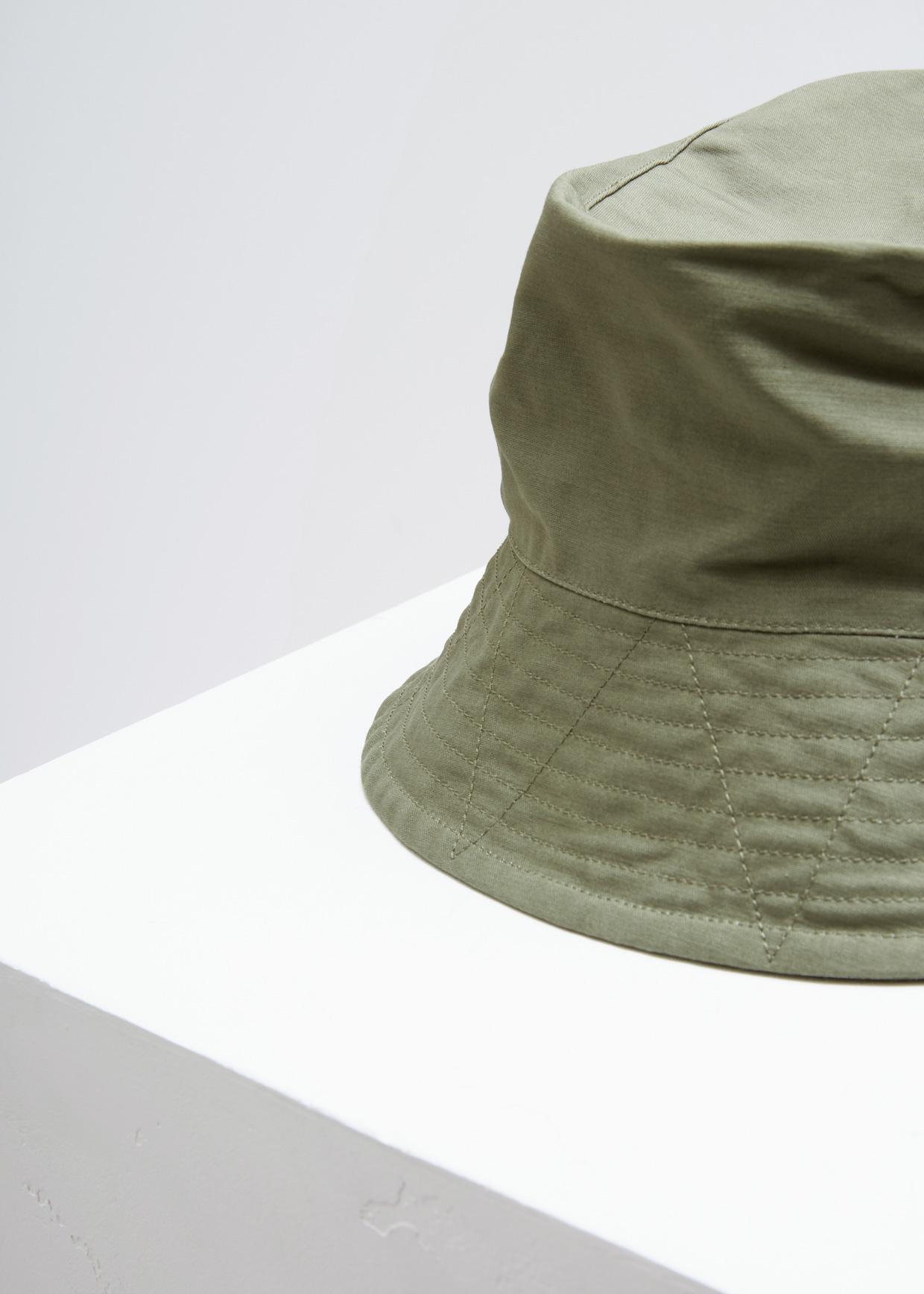 Lyst - Engineered Garments Double Cloth Bucket Hat in Green for Men a77a56748581