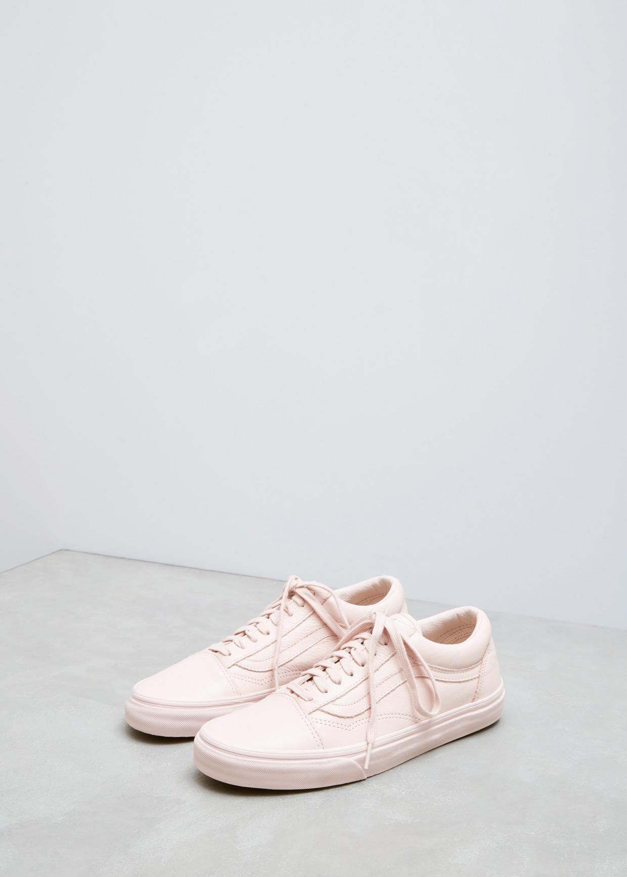 Vans Old Skool (Leather) Mono Sepia Rose | Footshop