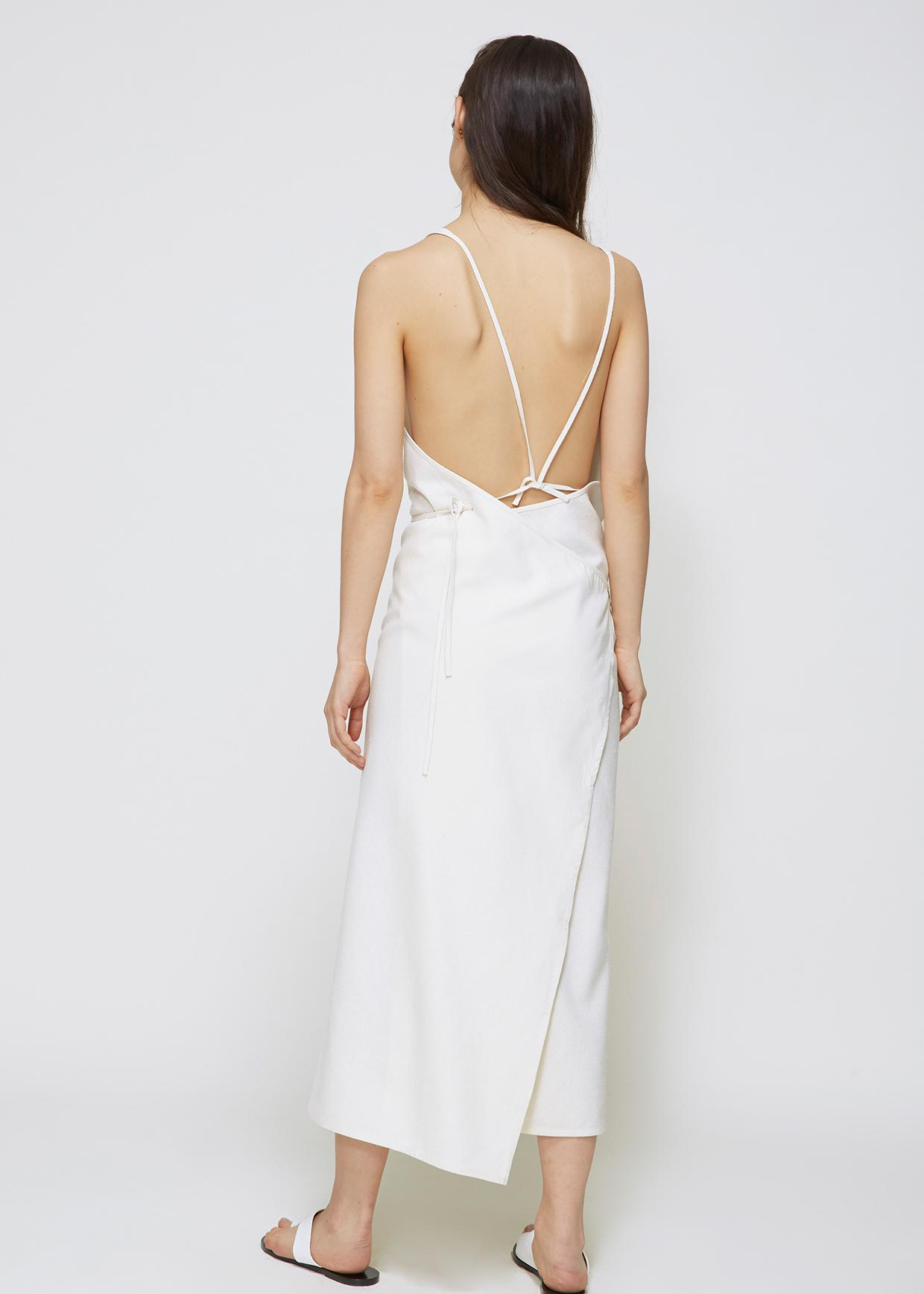 0aeb2fbd955 Baserange Apron Dress in White - Lyst