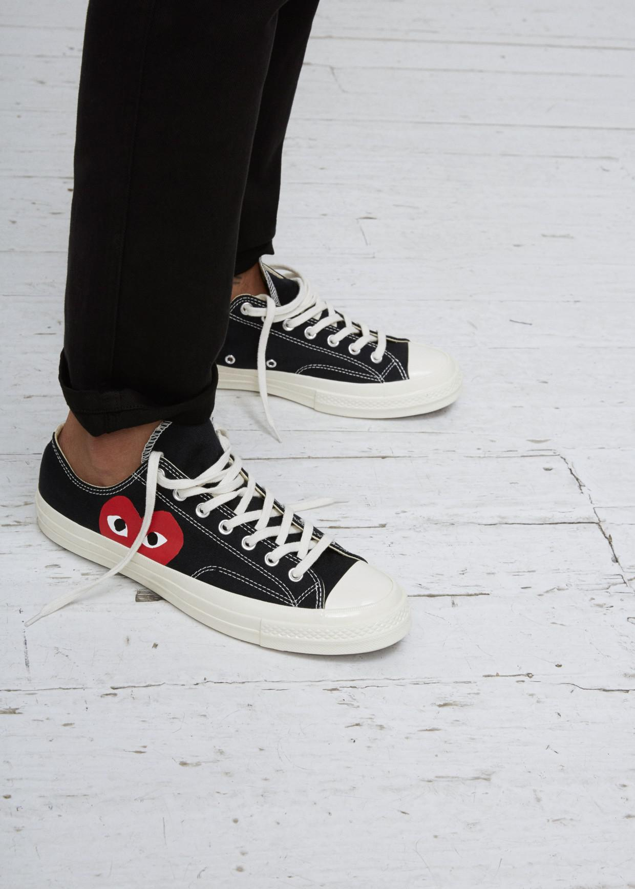 COMME DES GARÇONS PLAY Play Converse Chuck Taylor Low-top Sneaker in ... 46c181962