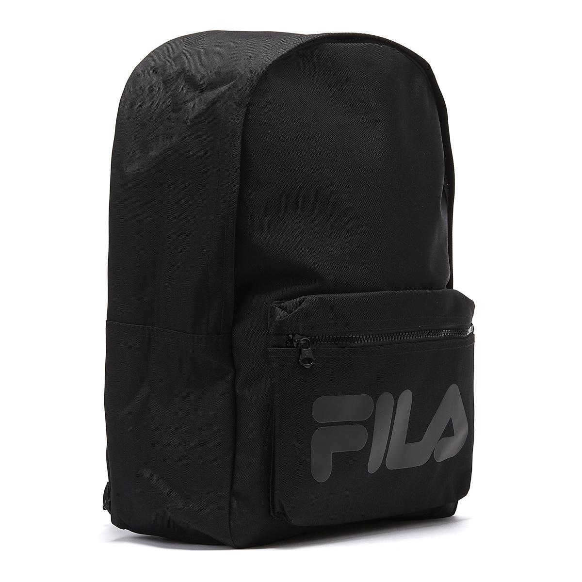 b112509a54 Lyst - Fila Verdon Black Backpack in Black for Men