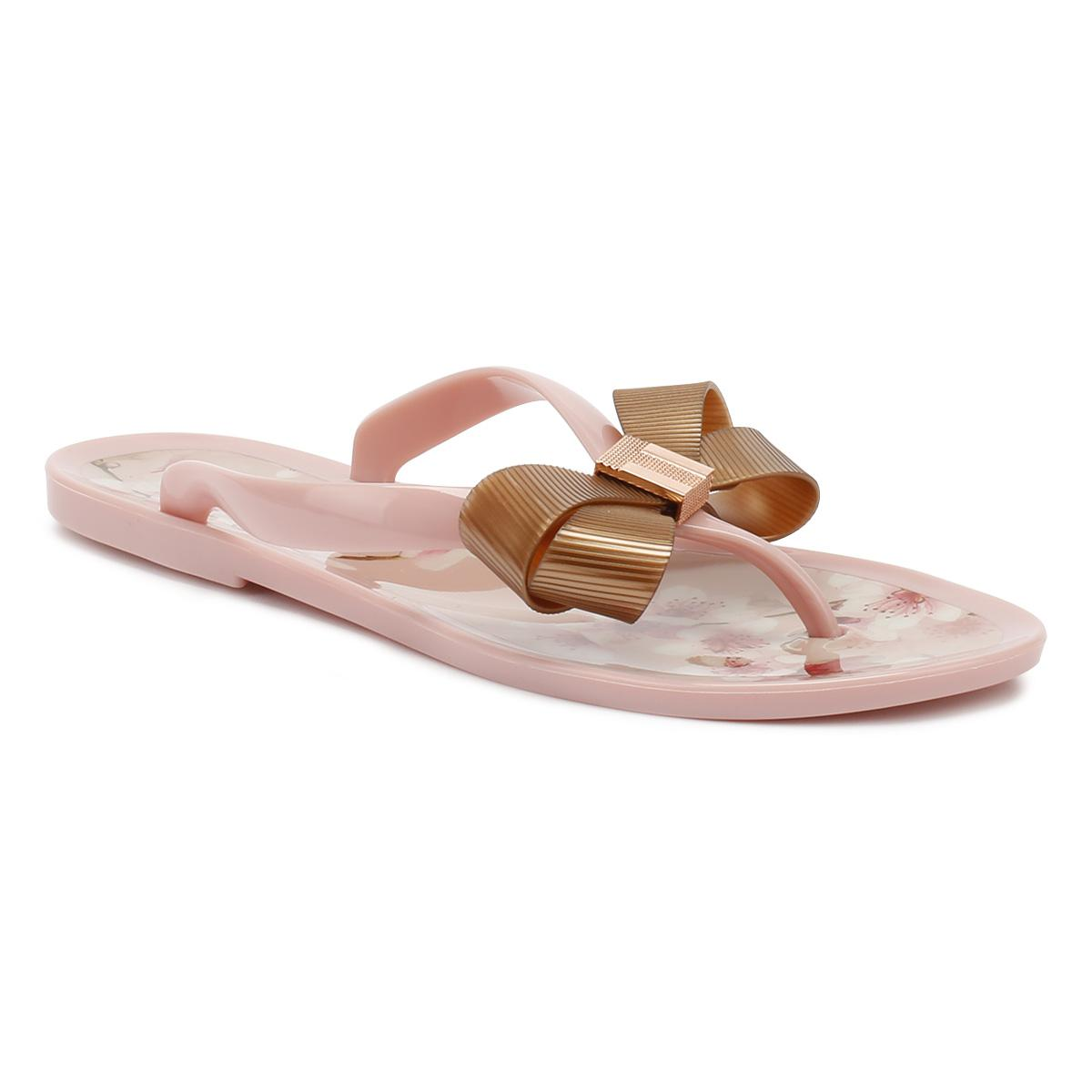 bf7b6eae4 Ted Baker Womens Blossom Pink Susziep Flip Flops in Pink - Lyst