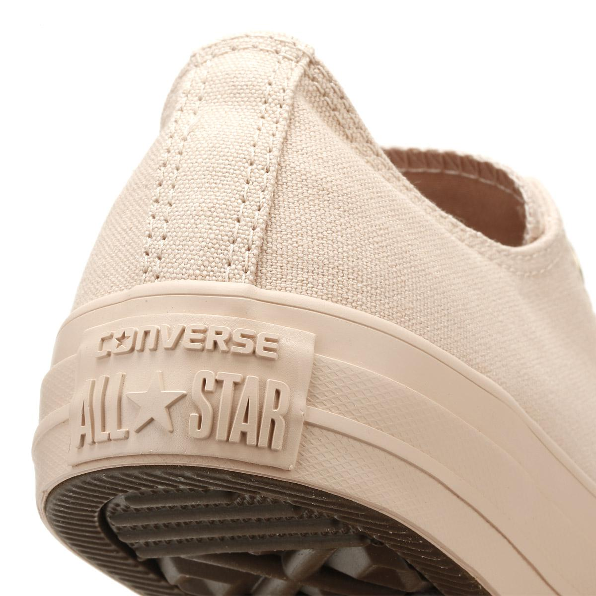 830e9051c8b8 ... Taylor All Star Womens Particle Beige Ox Trainers - Lyst. View  fullscreen