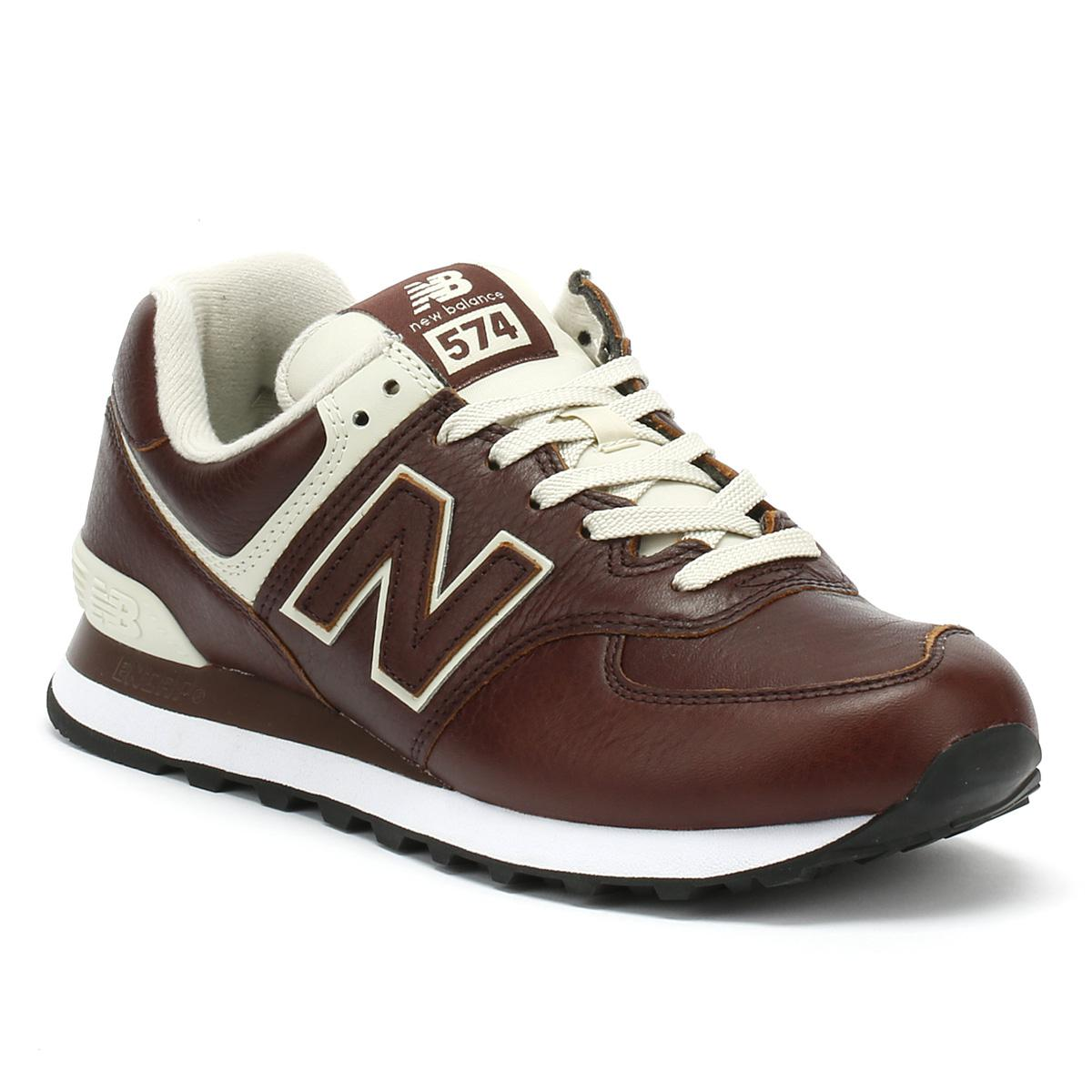 b479ca977e ... usa new balance multicolor mens cabernet red white 574 trainers for men  lyst. view fullscreen