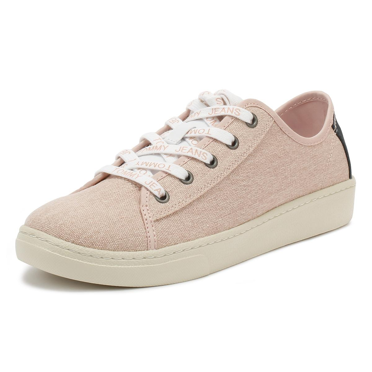 93601095e381e0 ... Tommy Jeans Womens Rose Cloud Low Trainers - Lyst. View fullscreen