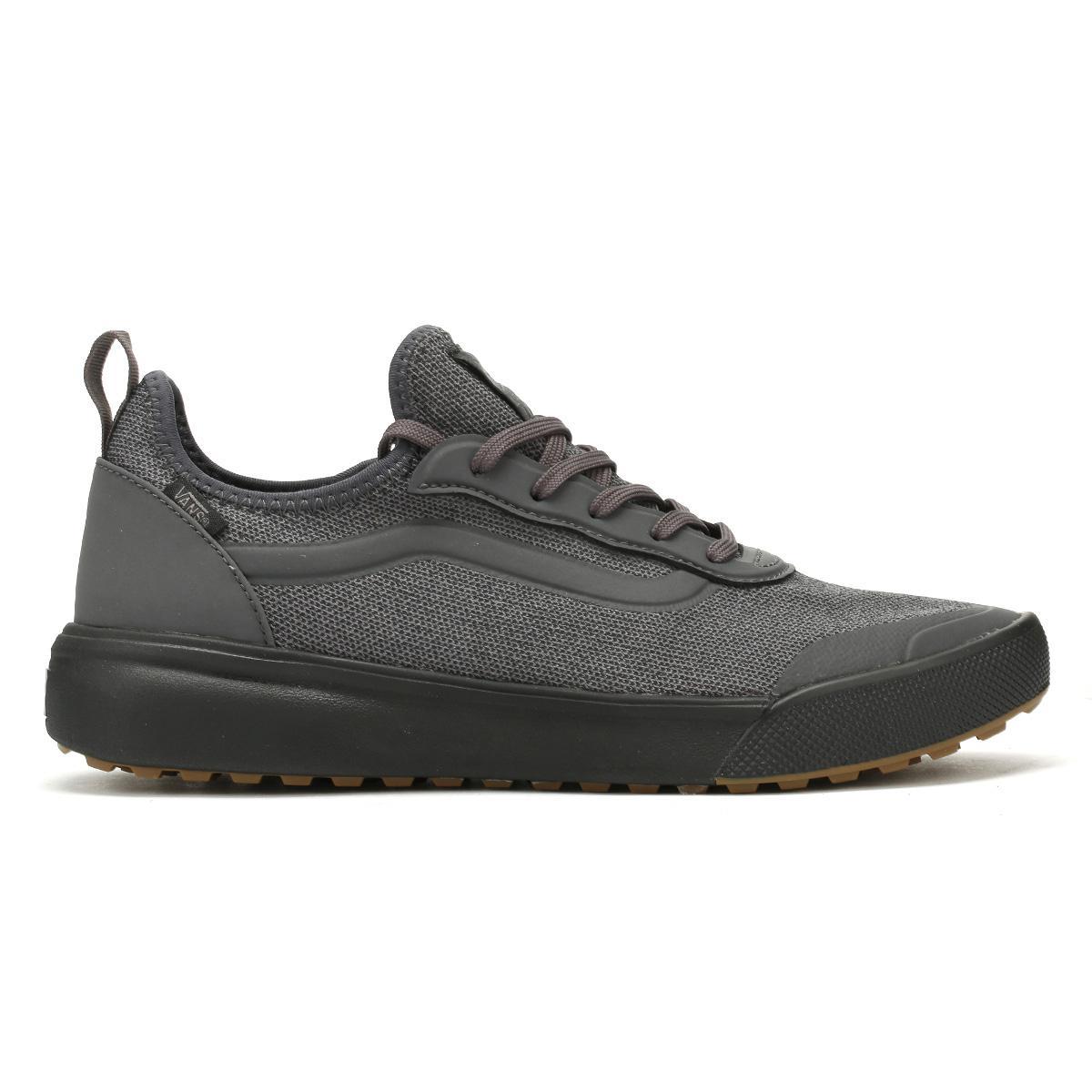 Lyst - Vans Mens Asphalt Black Knit Ultrarange Ac Trainers in Black ... 2105345b8
