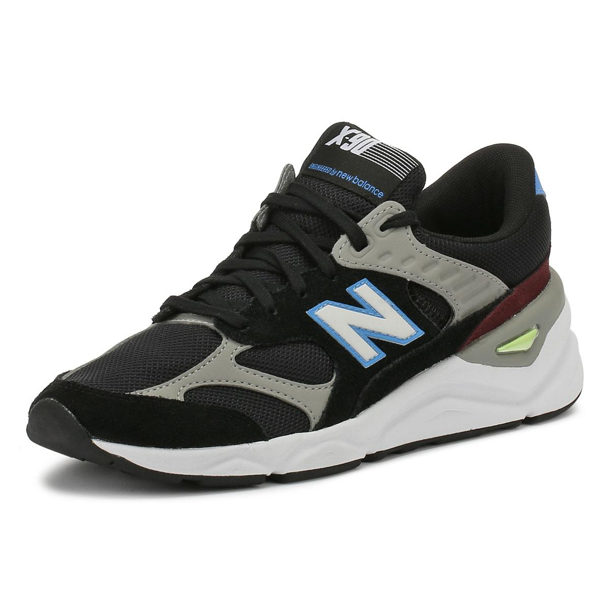 new concept f5dfd 76203 New Balance Msx90 Mens Black   Blue Trainers in Black for Men - Lyst