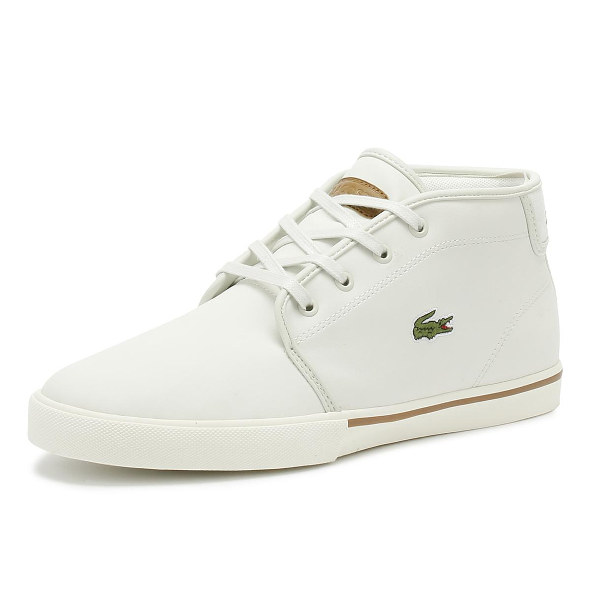 7ce481112 Lacoste - Ampthill 119 1 Mens Off White Trainers for Men - Lyst. View  fullscreen