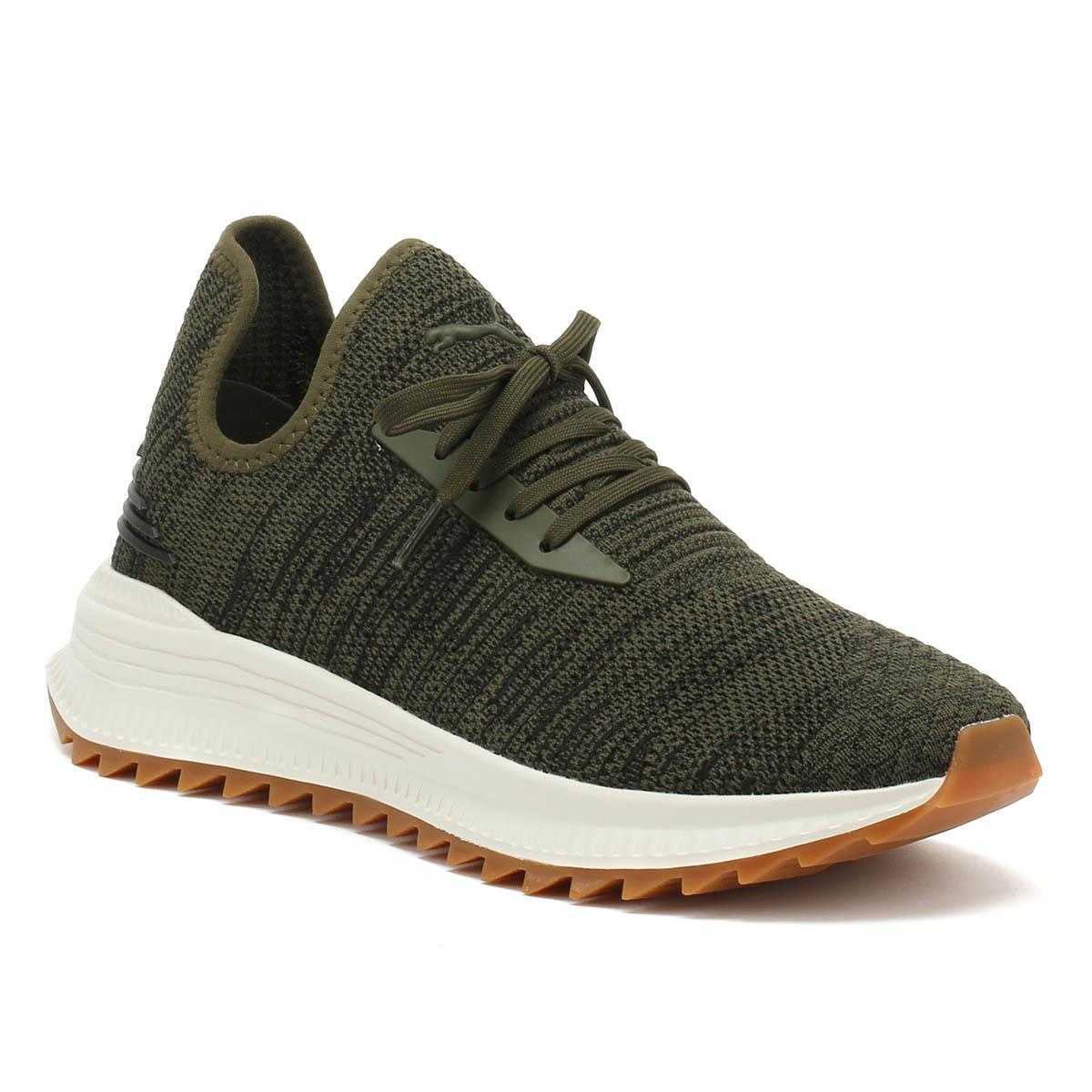 Avid Waterrplnt Mens Forest Night Green Sneakers