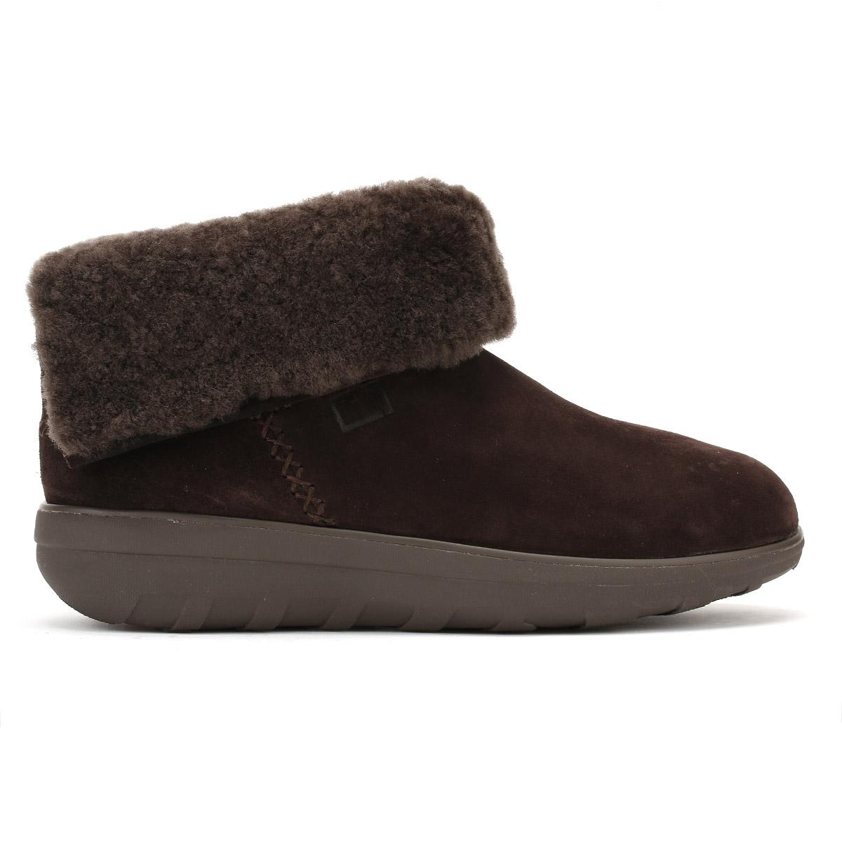 b3e0f92d741eb1 Fitflop Womens Chocolate Dark Brown Mukluk Shorty Ii Boots in Brown ...