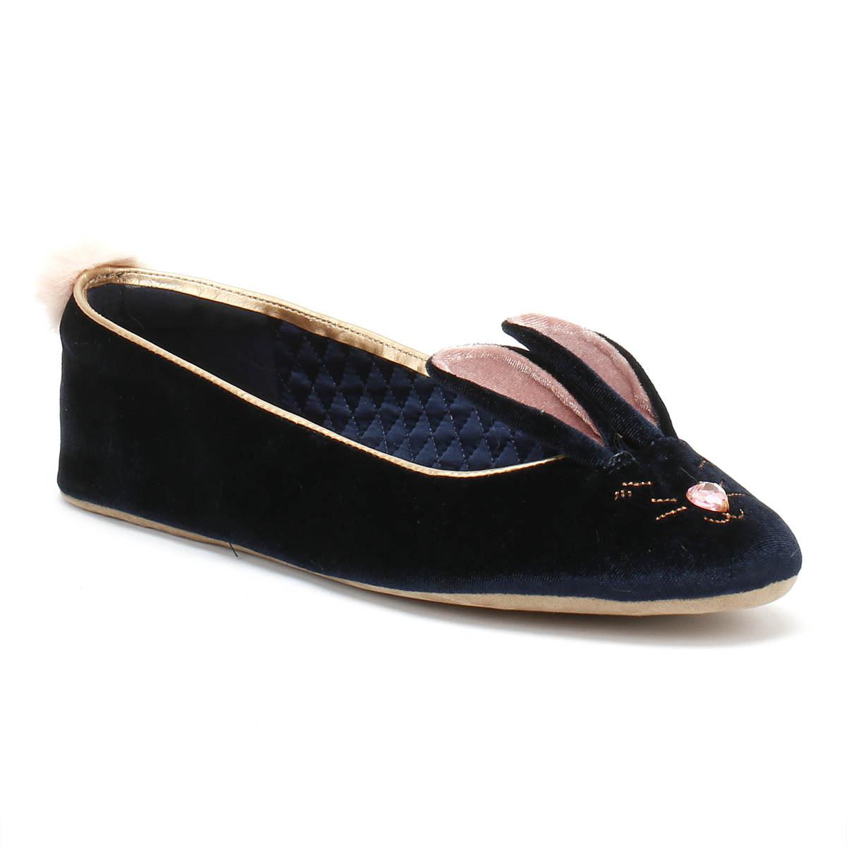 20c8f5ef5933 Ted Baker. Blue Bhunni Womens Navy Slippers.  78  58 From TOWER London