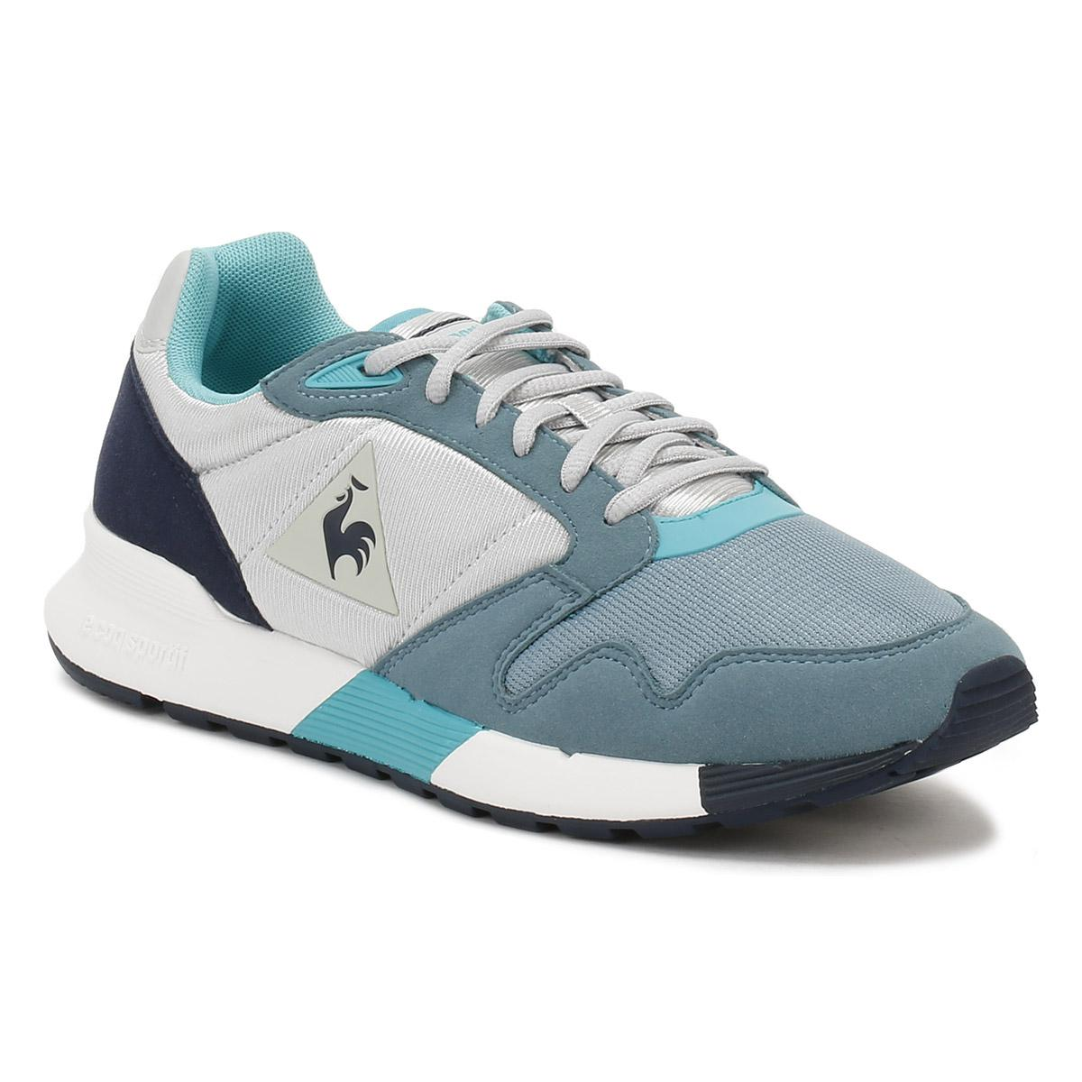 e03e8aa4283e Lyst - Le Coq Sportif Womens Galet   Smoke Blue Omega X W Trainers ...