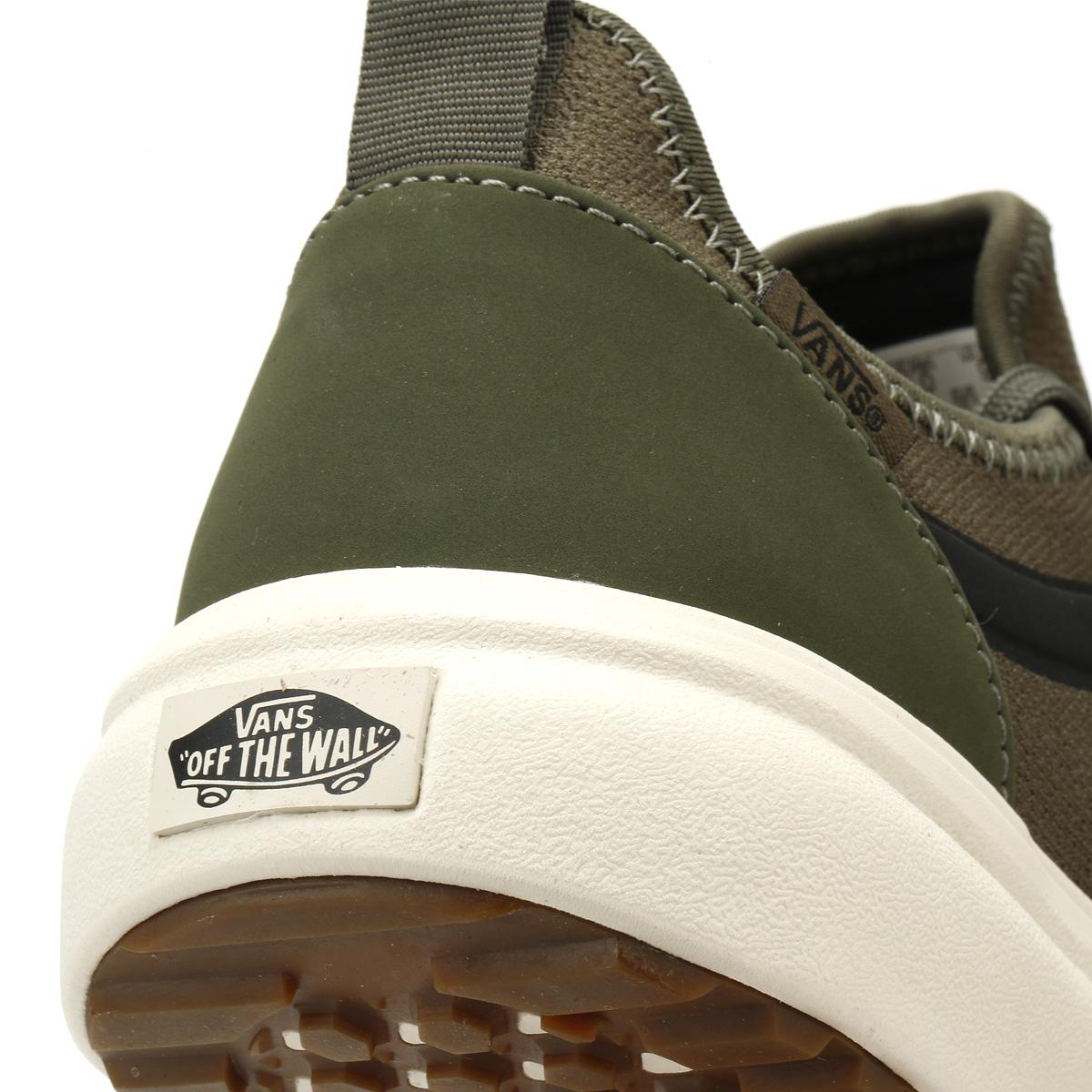 Lyst - Vans Mens Leaf Green Knit Ultrarange Ac Trainers in Green for Men e252618f8