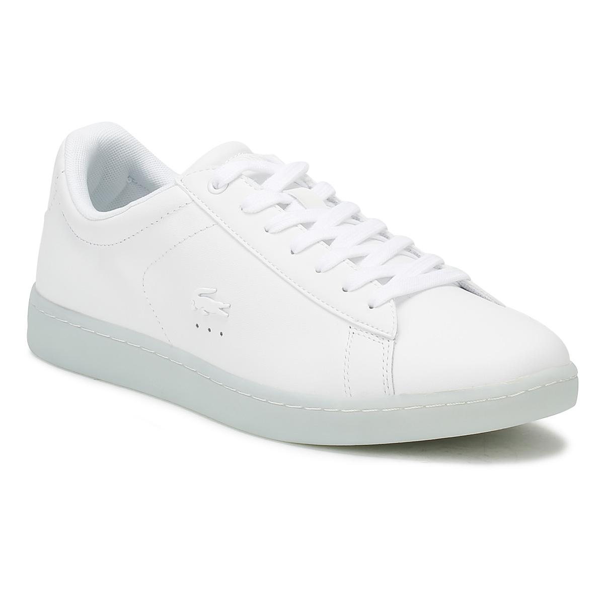 99cf79a9c Lyst - Lacoste Carnaby Evo 118 3 in White - Save 47%